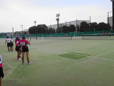 「中学生ソフトテニス大会」⑩