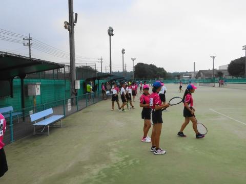 「中学生ソフトテニス大会」⑪