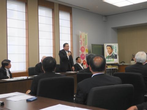 「茨城県議会第3回定例会内示会」 (6)