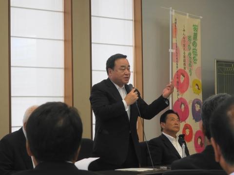 「茨城県議会第3回定例会内示会」 (7)