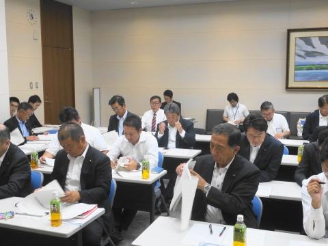 「茨城県議会第3回定例会内示会」 (9)