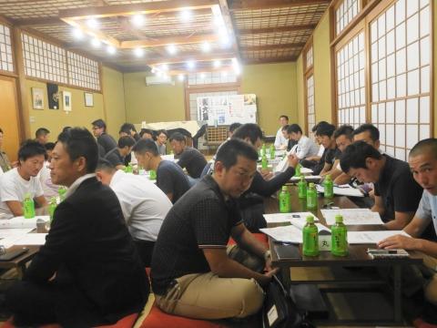 「石岡青年会全体会議&獅子舞連合会支部会議」 (6)
