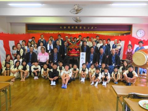「大砂区祭礼30周年記念式典&新調獅子頭お披露目」 (5)