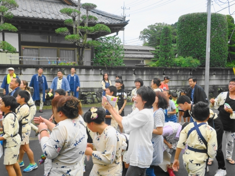 「大砂区祭礼30周年記念式典&新調獅子頭お披露目」 (8)