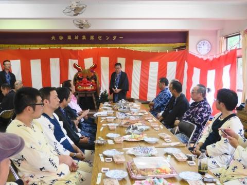 「大砂区祭礼30周年記念式典&新調獅子頭お披露目」 (21)