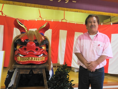 「大砂区祭礼30周年記念式典&新調獅子頭お披露目」 (22)