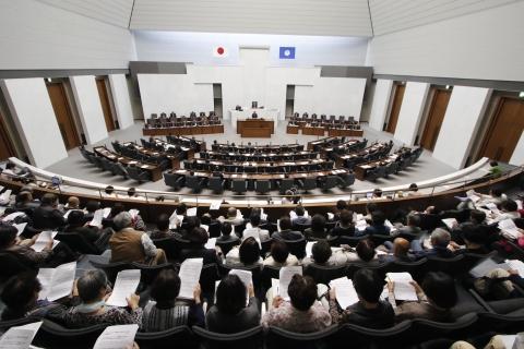 「平成30年9月7日一般質問&新事務所開所式」①