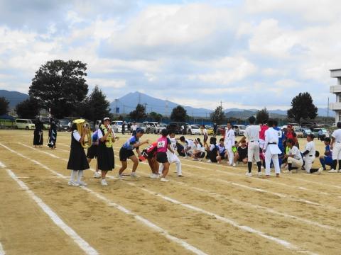 「石岡市内中学校体育祭」⑬