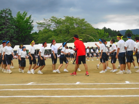 「石岡市内中学校体育祭」⑳