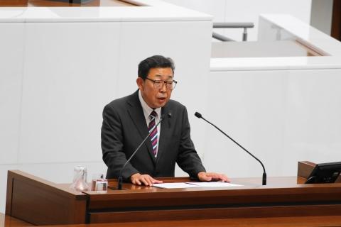 「平成30年第3回定例会」一般質問登壇!①