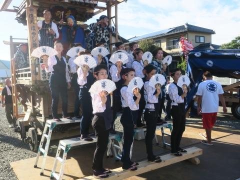 「石岡のおまつり」青年会長顔合わせバスパレード (2)1