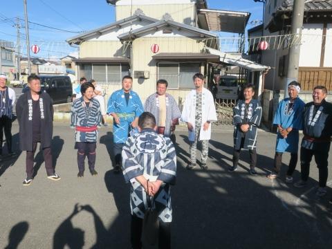 「石岡のおまつり」青年会長顔合わせバスパレード (4)
