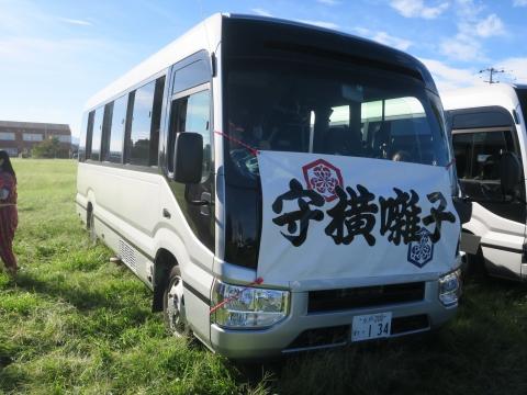 「石岡のおまつり」青年会長顔合わせバスパレード (21)