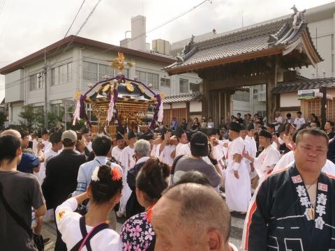 「常陸國總社宮例大祭」神幸祭15日⑥