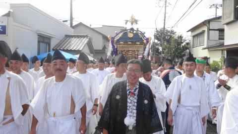 「常陸國總社宮例大祭」神幸祭15日⑧