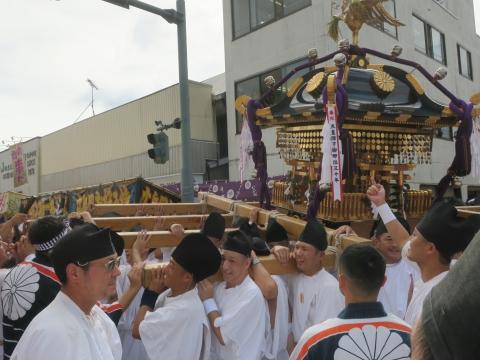 「常陸國總社宮例大祭」神幸祭15日⑩