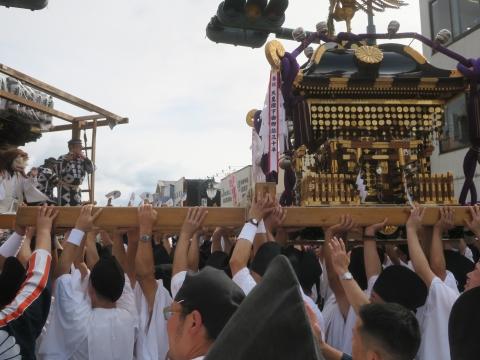 「常陸國總社宮例大祭」神幸祭15日⑪