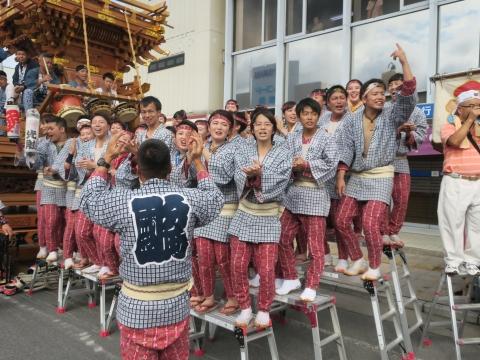 「常陸國總社宮例大祭」神幸祭15日⑫