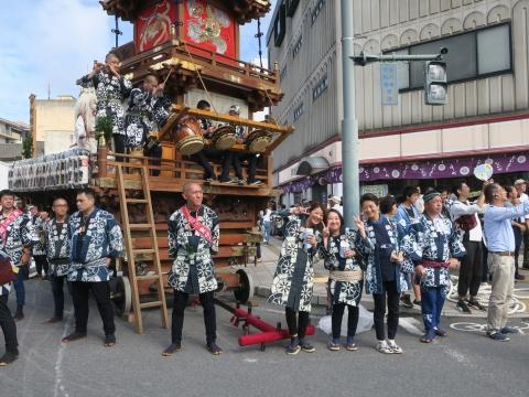 「常陸國總社宮例大祭」神幸祭15日⑬