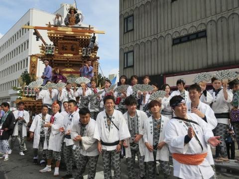 「常陸國總社宮例大祭」神幸祭15日⑭
