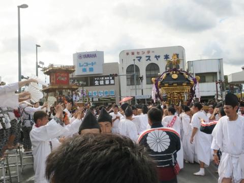 「常陸國總社宮例大祭」神幸祭15日⑮