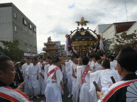 「常陸國總社宮例大祭」神幸祭15日⑰