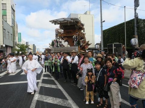 「常陸國總社宮例大祭」神幸祭15日⑱