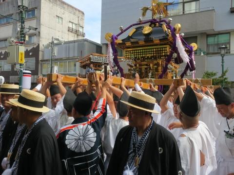「常陸國總社宮例大祭」神幸祭15日㉑