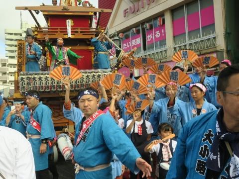 「常陸國總社宮例大祭」神幸祭15日㉒