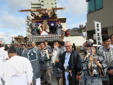 「常陸國總社宮例大祭」神幸祭15日㉔