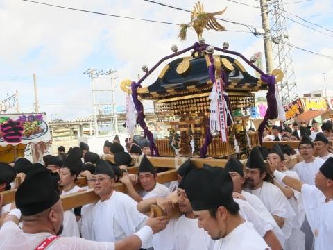 「常陸國總社宮例大祭」神幸祭15日㉙