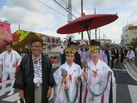 「常陸國總社宮例大祭」神幸祭15日㉚