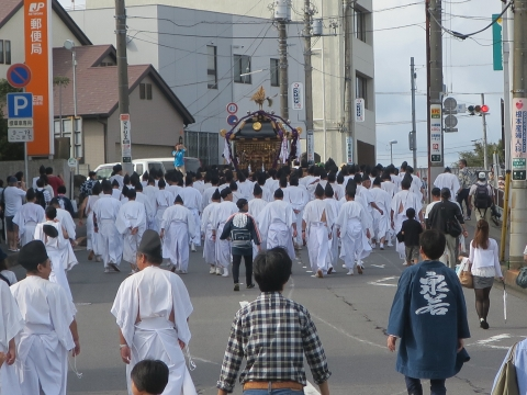 「常陸國總社宮例大祭」神幸祭15日㉝