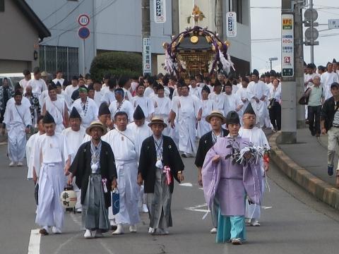 「常陸國總社宮例大祭」神幸祭15日㉟