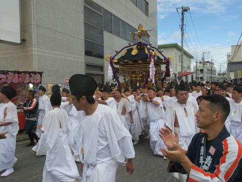 「常陸國總社宮例大祭」神幸祭15日㊴