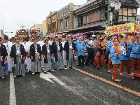「常陸國總社宮例大祭」神幸祭15日Ⅱ⑧