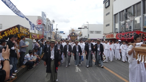 「常陸國總社宮例大祭」神幸祭15日Ⅱ⑩