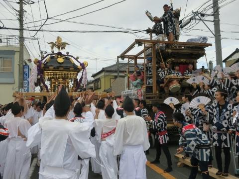 「常陸國總社宮例大祭」神幸祭15日Ⅱ⑳