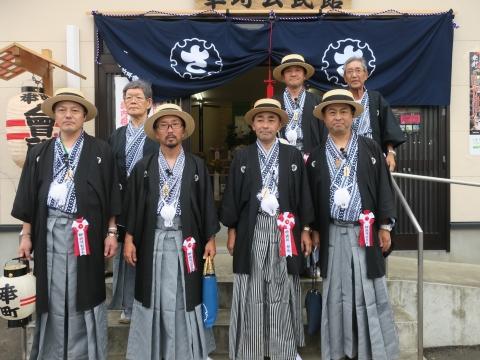 「常陸國總社宮例大祭」神幸祭15日Ⅱ㉑