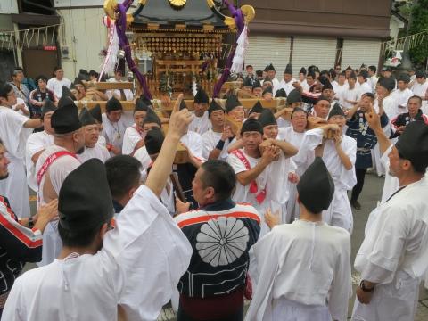 「常陸國總社宮例大祭」神幸祭15日Ⅱ㉓