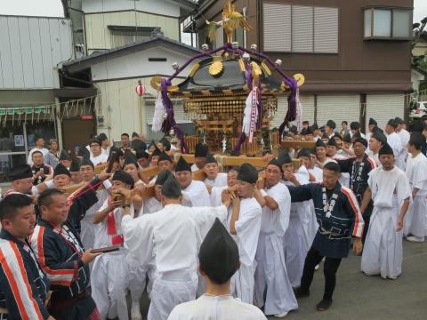 「常陸國總社宮例大祭」神幸祭15日Ⅱ㉒