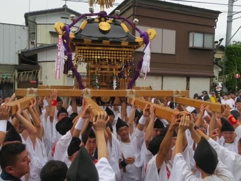 「常陸國總社宮例大祭」神幸祭15日Ⅱ㉕