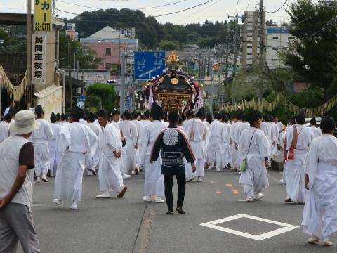 「常陸國總社宮例大祭」神幸祭15日Ⅱ㉘