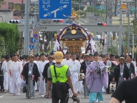 「常陸國總社宮例大祭」神幸祭15日Ⅱ㉚