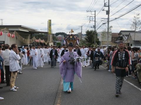 「常陸國總社宮例大祭」神幸祭15日Ⅱ㉛