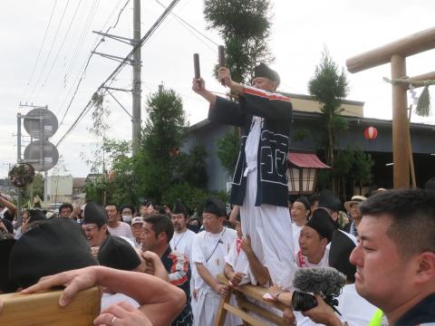 「常陸國總社宮例大祭」神幸祭15日Ⅱ㉜