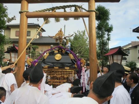 「常陸國總社宮例大祭」神幸祭15日Ⅱ㉟