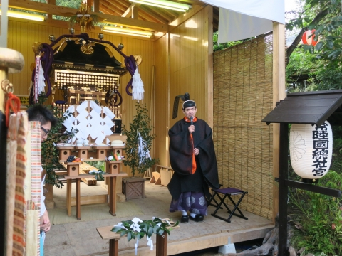 「常陸國總社宮例大祭」神幸祭15日Ⅱ㊳