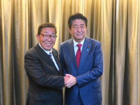 「安陪総理大臣茨城に来る!」 (2)