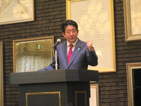 「安陪総理大臣茨城に来る!」 (4)